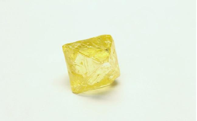 AGD finds exceptional 47.61 carat deep lemon yellow at Grib