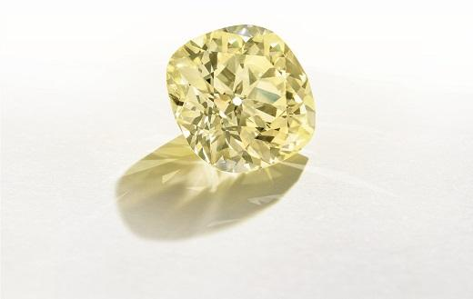 118ct. Yellow Smashes Estimate at Christie's