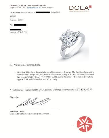 Jewellery Valuation Services