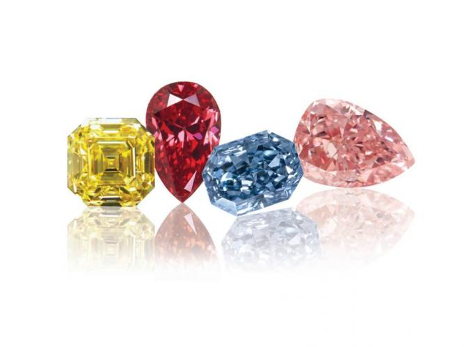 Blue and Pink Diamonds Show Price Stability in Q3 2019