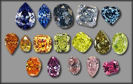 Coloured diamonds are best investment