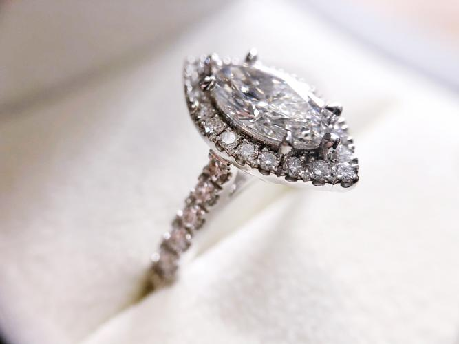 The Marquise Cut Diamond.