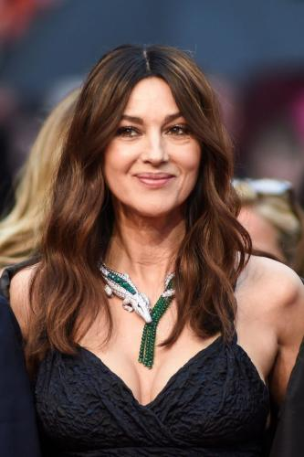Monica Bellucci Wore the Historic Cartier María Félix Tribute Necklace at Cannes