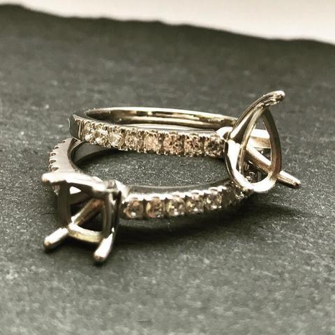 Old Diamond ring remodelling