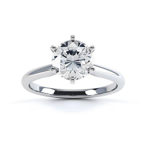 Special offer: Tiffany style six claw engagement ring setting